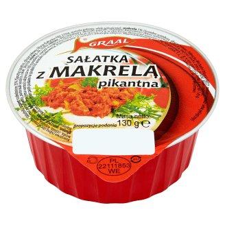GRAAL Sałatka z makrelą pikantna 130 g