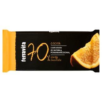 Terravita Czekolada ze skórką pomarańczową 90 g
