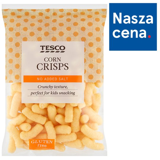 Tesco Corn Crisps 100 g