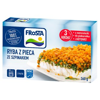 FRoSTA Roast Fish with Spinach 360 g
