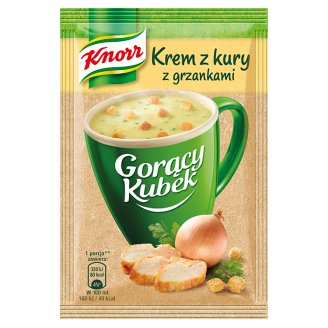 Knorr Gorący Kubek Hen Cream Soup with Croutons 16 g