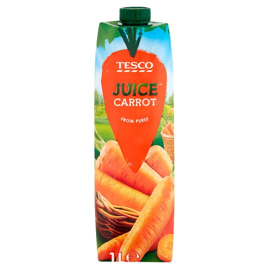 Tesco Carrot Juice 1 L