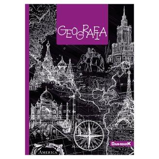 Dan-Mark Zeszyt Geografia A5 kratka 60 kartek