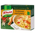Knorr Noble Chicken and Vegetables Bouillon 60 g (6 Cubes)