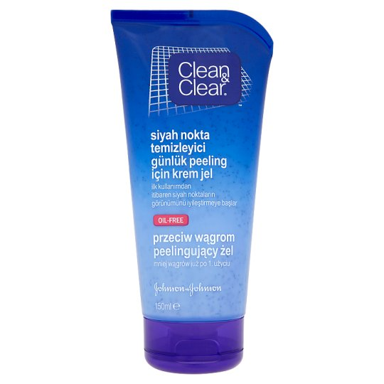 Clean & Clear Peeling Gel Against Blackheads 150 ml