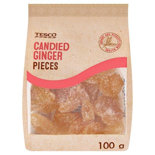 Tesco Cubes Candied Ginger 100 g