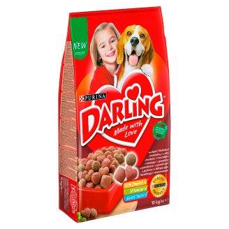 Darling Z wołowiną i dodatkiem wyselekcjonowanych warzyw Karma dla dorosłych psów 10 kg