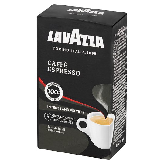 Lavazza Caffè Espresso Ground Roasted Coffee 250 g