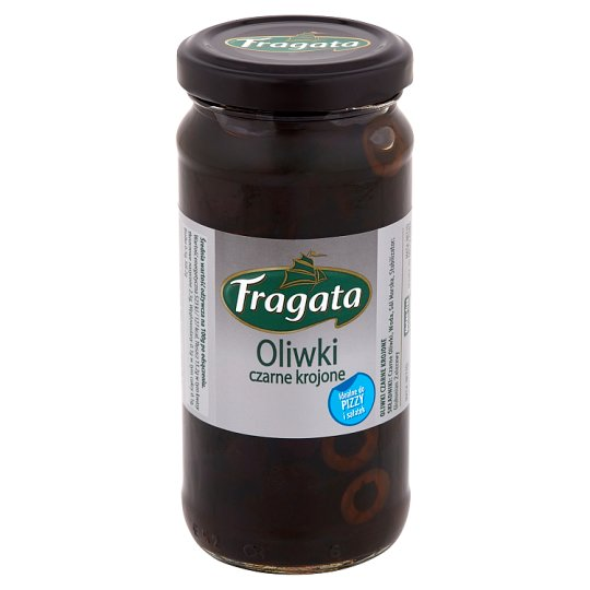 Fragata Sliced Black Olives 240 g