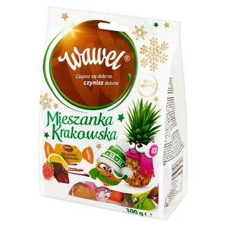 Wawel Mieszanka Krakowska Chocolate Coated Jelly Sweets 300 g