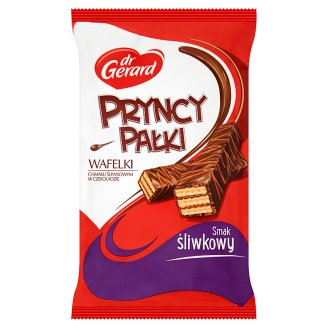 dr Gerard PryncyPałki Plum Flavored in Chocolate Wafers 235 g