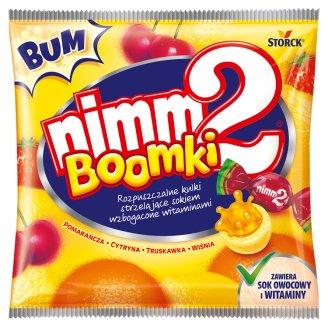 nimm2 Boomki Rozpuszczalne kulki strzelające sokiem wzbogacone witaminami 90 g