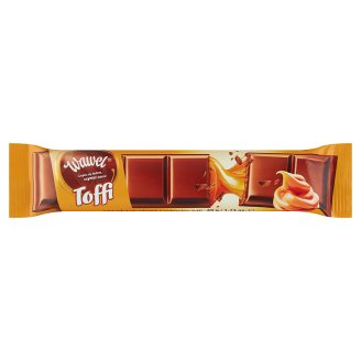 Wawel Toffee Milk Chocolate Filled Bar 49 g