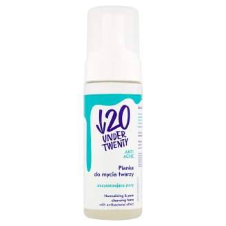 Under Twenty Anti Acne Pianka do mycia twarzy oczyszczająca pory 150 ml