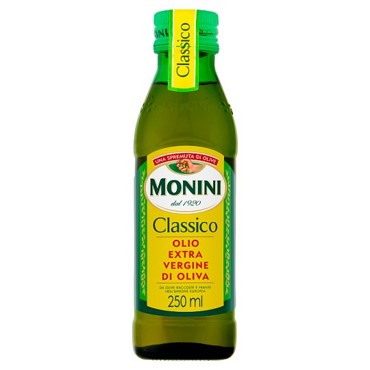 Monini Classico Oliwa z oliwek najwyższej jakości z pierwszego tłoczenia 250 ml