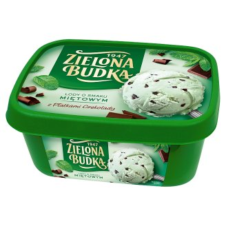Zielona Budka Mint Flavoured Ice Cream 1000 ml