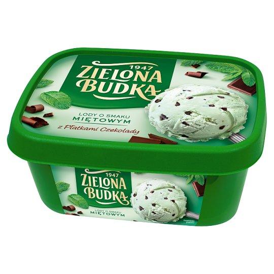 Zielona Budka Mint Flavoured Ice Cream 1000 ml