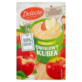 Delecta Owocowy kubek Apple Flavoured Soft Jelly 30 g