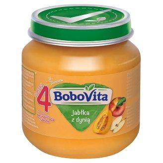 BoboVita Jabłka z dynią po 4 miesiącu 125 g