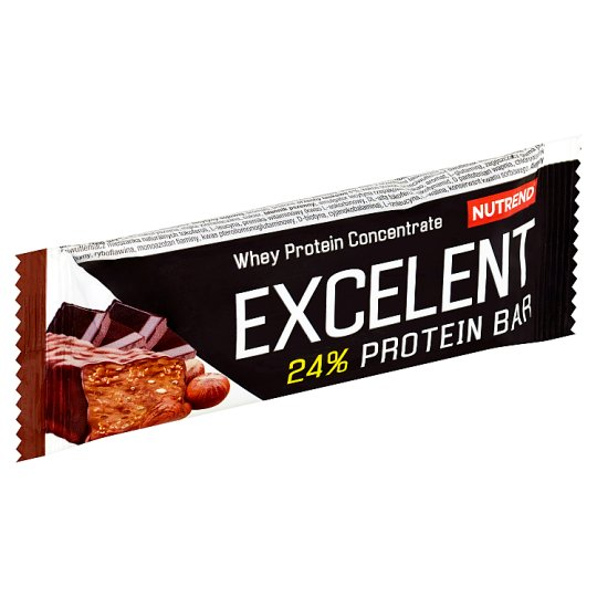 Nutrend Excelent Protein Bar Chocolate Flavour with Nuts 40 g