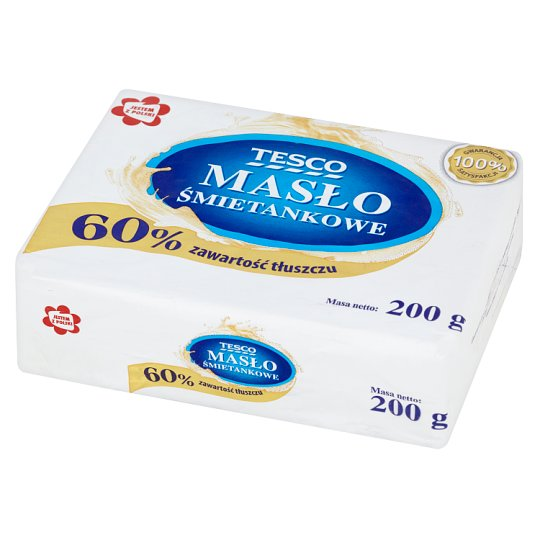 Tesco Cream Butter 200 g