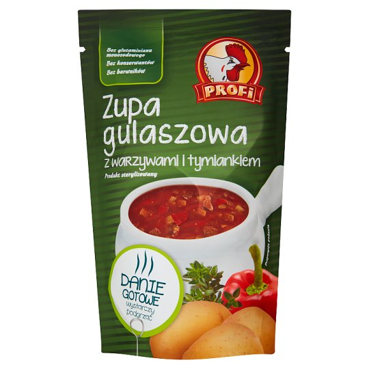 Profi Goulash Soup with Vegetables and Thyme 450 g