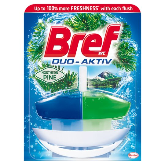 Bref WC Duo-Aktiv Pine Toilet Rim Block 50 ml
