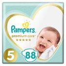 Pampers Premium Care rozmiar 5 (Junior), 11–18kg, 88 pieluszek