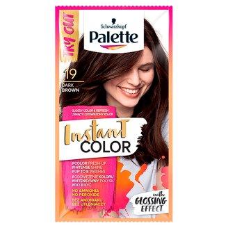 Palette Instant Color Szampon koloryzujący Ciemny brąz 19 25 ml