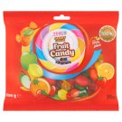 Tesco Candy Carnival Karmelki twarde z nadzieniem o smaku owocowym i witaminami 200 g