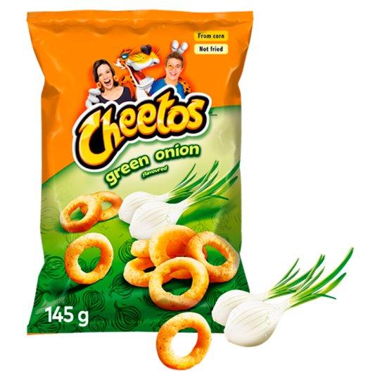 Cheetos Green Onion Flavour Corn Snacks 145 g