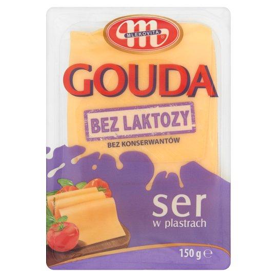 Mlekovita Gouda Lactose Free Sliced Cheese 150 g