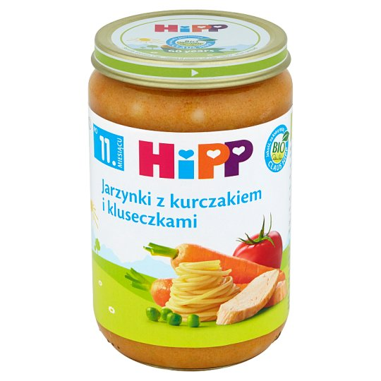 HiPP BIO Vegetables with Chicken and Noodles after 11. Months Onwards 220 g