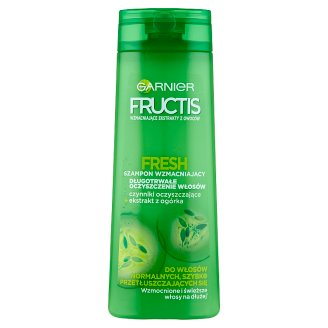 Garnier Fructis Fresh Strengthening Shampoo for Normal Quickly Greasy Hair 400 ml