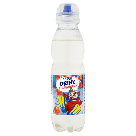 Tesco Strawberry Drink 400 ml
