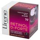 Lirene Retinol D-Forte 70+ Multi-regenerujący krem odbudowujący na noc 50 ml