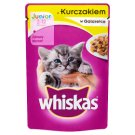 Whiskas Junior with Chicken in Jelly Complete Cat Food 2-12 Months 100 g