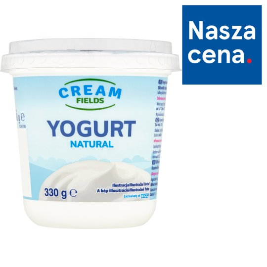 Cream Fields Natural Yoghurt 330 g