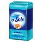 o'Sole Fine-grained Iodized Sea Salt 1 kg