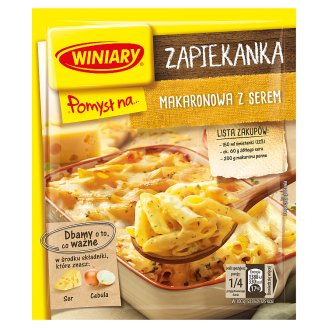 Winiary Pomysł na... Pasta Casserole with Cheese 47 g
