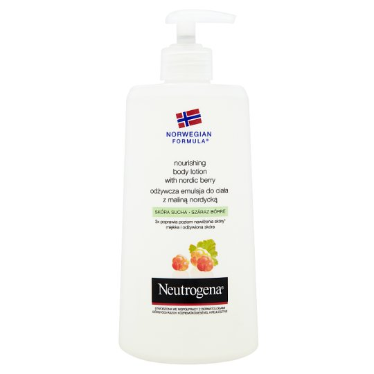 NEUTROGENA Norwegian Formula Nourishing Body Lotion with Nordic Berry 400 ml