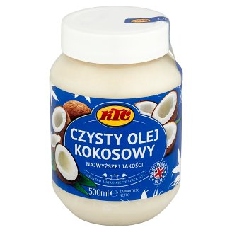 KTC Pure Coconut Oil 500 ml