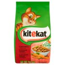 Kitekat Complete Food for Adult Cats with Beef and Vegetables 300 g