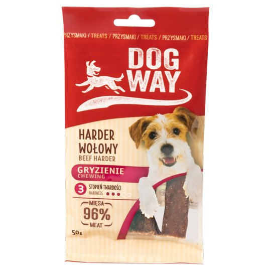 Dogway Chewing Beef Harder Delicacy for Dog 50 g