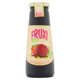 Fruxi Fresh Beetroot and Apple 100% Natural Juice Pressed from Fresh Fruits and Vegetable 250 ml