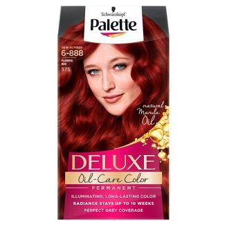 Palette Deluxe Oil-Care Color Farba do włosów Intensywna czerwień 575