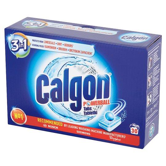 Calgon 3w1 Tabletki do pralek przeciw osadzaniu się kamienia 390 g (30 sztuk)