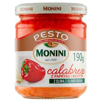 Monini Calabrese Pesto Sauce 190 g
