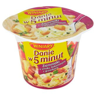 Winiary Danie w 5 minut Bacon and Croutons Flavoured Mashed Potatoes 51 g