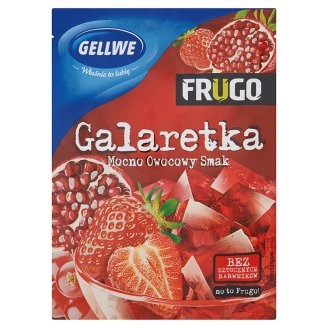 Gellwe Frugo Czerwone Galaretka 75 g